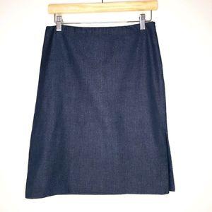 Aritzia Talula Babaton Stretchy Denim Mini Skirt